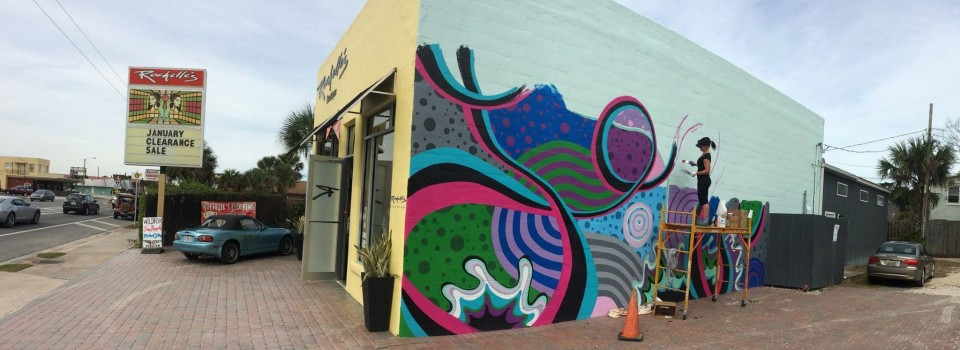 The Love Mural Unveiled: Behind the Scenes of Rochelle's Boutique Art Installation